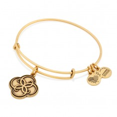 Aphrodite's Flower Charm Bangle
