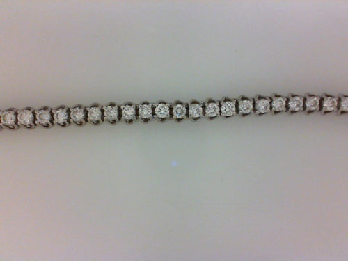 18KT WG 5.00CT TW DIAMOND LATTUS 4 PRONG BRCLT