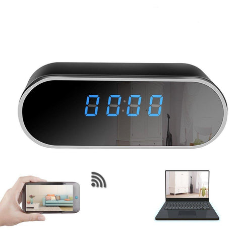 Mini Spy Alarm Clock Hidden Camera - Mini Smart World