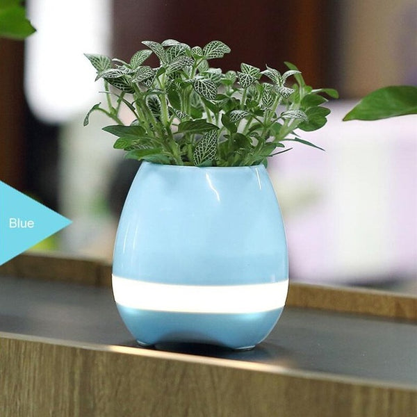 New-Smart-Flowerpot-Bluetooth-LED-MP3-Music