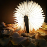 Folding Wooden Book Lamp