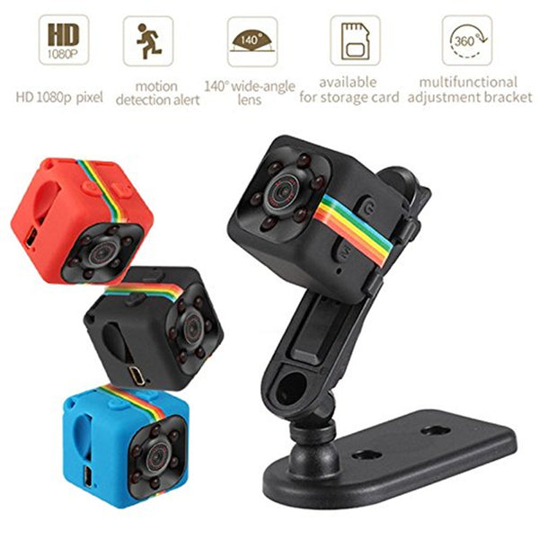 SQ11 Mini Hidden Spy Camera 1080P - Mini Smart World