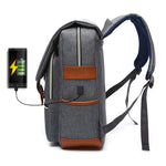 USB Smart Backpack with Large Capacity - Mini Smart World
