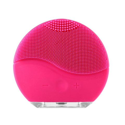 Silicone Facial Cleanser Brush Sonic Vibration