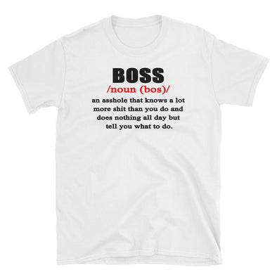Boss Definintion T-Shirt