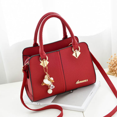 Wrist/Crossbody Handbag w/cute key chain