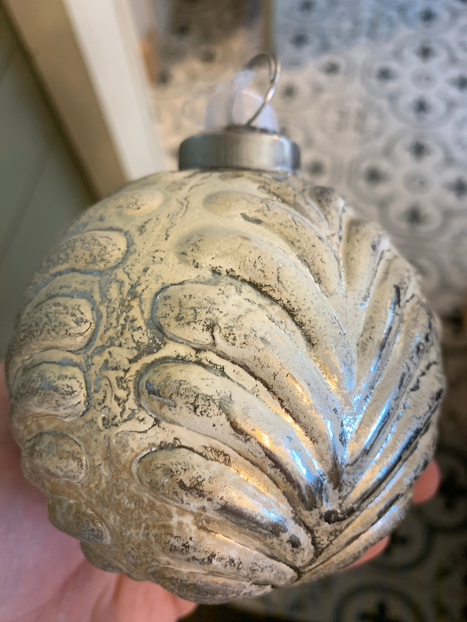 Mercury ball ornament