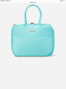 Corkcicle Turquoise lunch tote