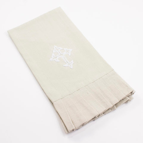 Cross tea towel
