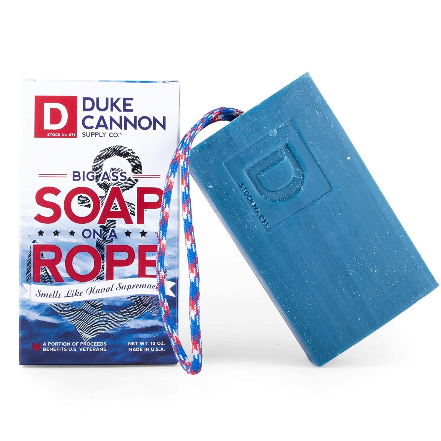 Duke Cannon Soap big soap on a roap