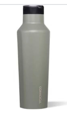 Gray sports Corkcicle canteen