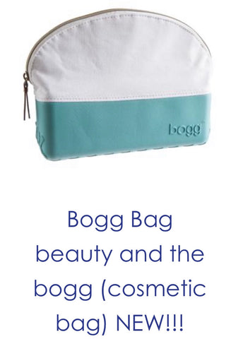 Bogg Carolina blue cosmetic bag