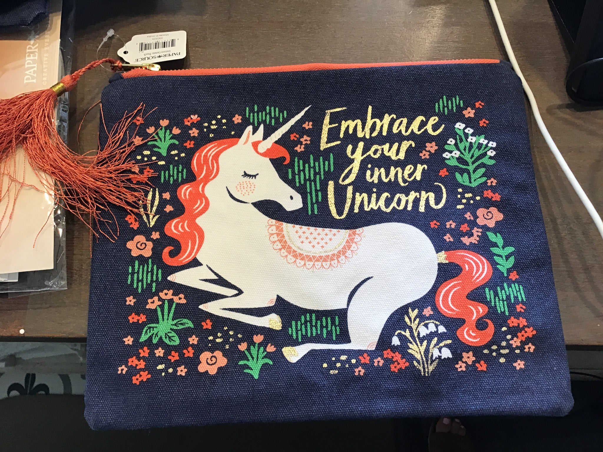 Embrace your inner unicorn pouch