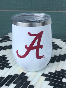 Alabama corkcicle stemless 12oz