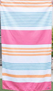 Paradise striped beach towel
