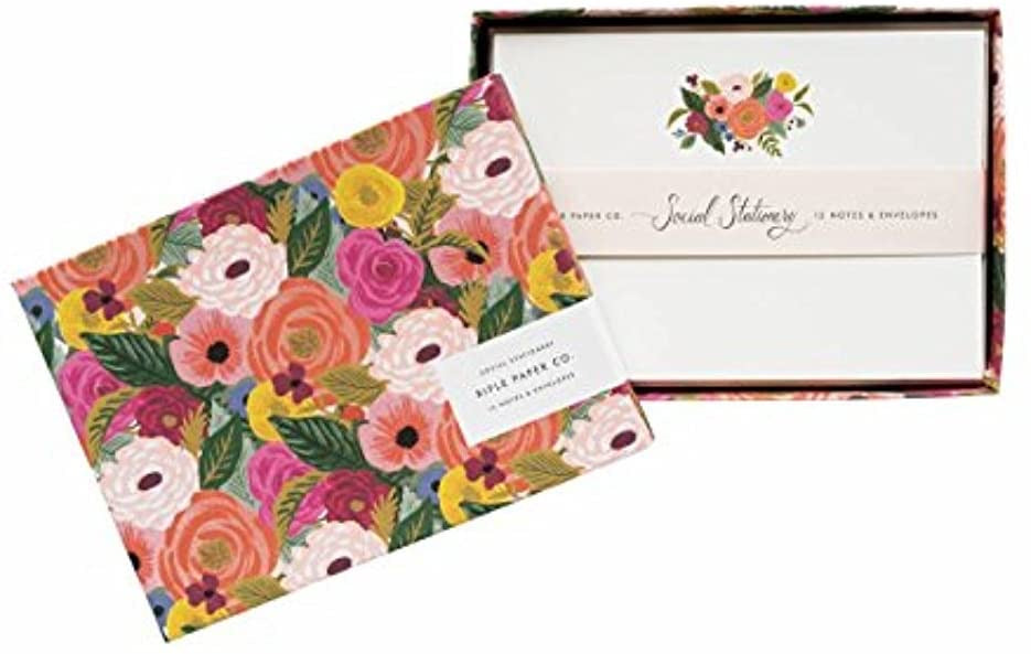 Rifle Floral Social Stationary Set