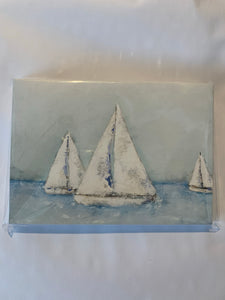 Karen Marcum Sailboat Notecard Set