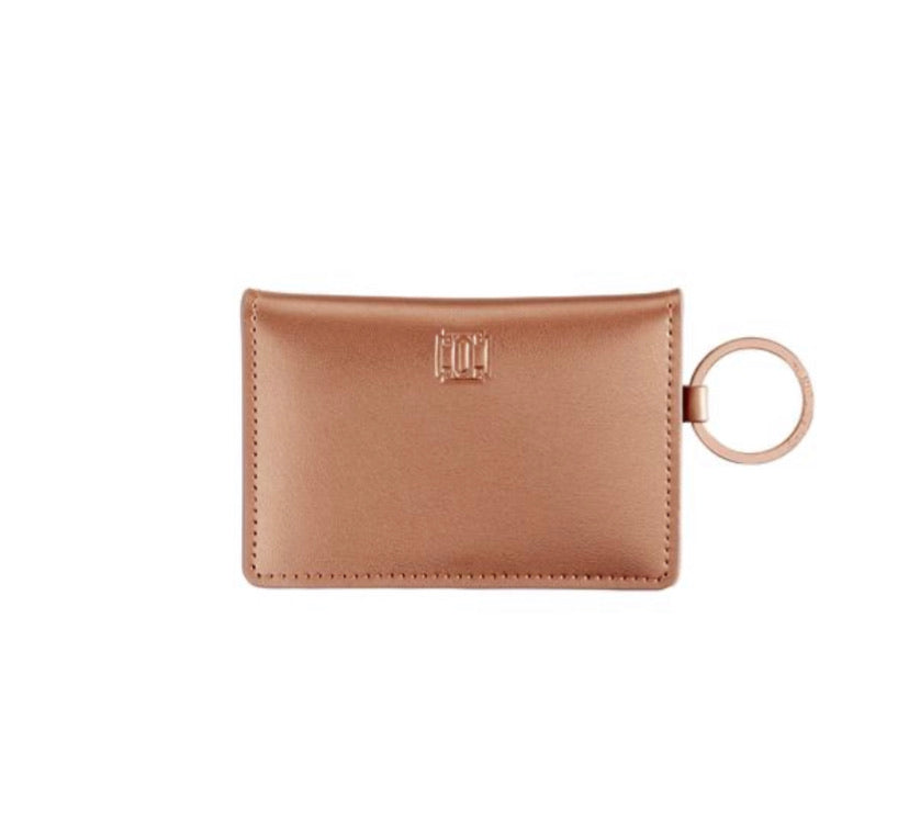 Oventure ID Case - Rose Gold Leather