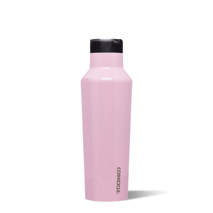 Pink sports Corkcicle canteen 20oz