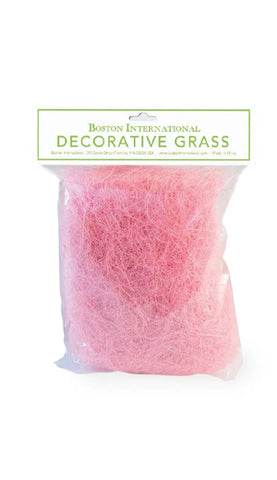 Pink Decorative Easter Grass