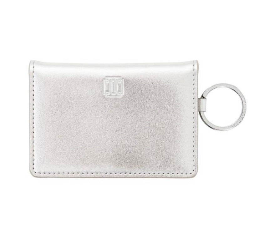 Oventure ID Case - Silver Leather