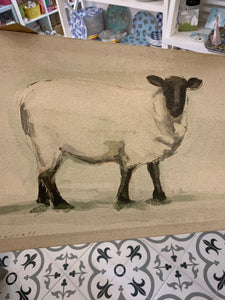 Sheep canvas