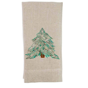 Blue Tree Dish Towel