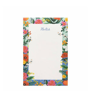 Rifle blue floral Notes notepad
