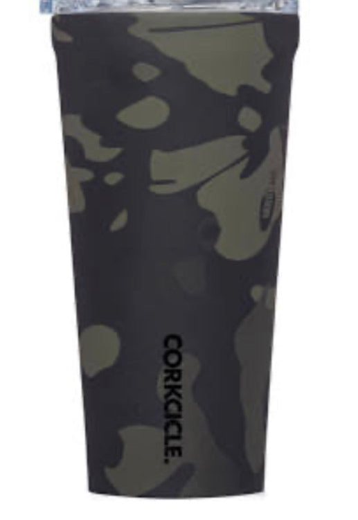 16oz tumbler Black camo corkcicle