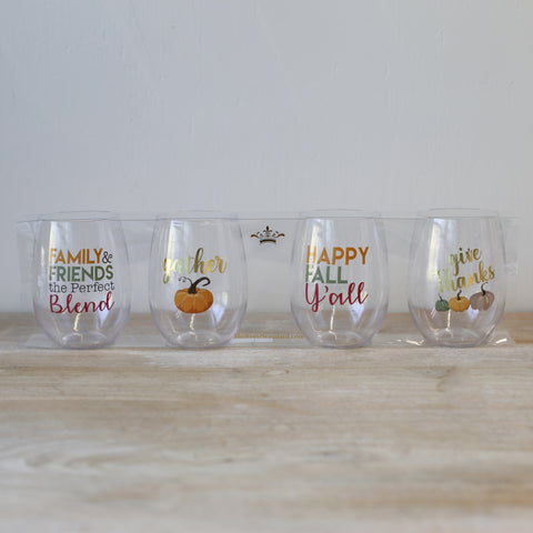 Gather To Go Wine Glass Set