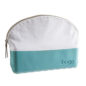Bogg teal cosmetic bag