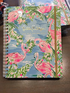 Lilly Pulitzer agenda Large flamingo