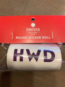 Hwd sticker roll
