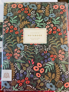 Notebook large rifle floral