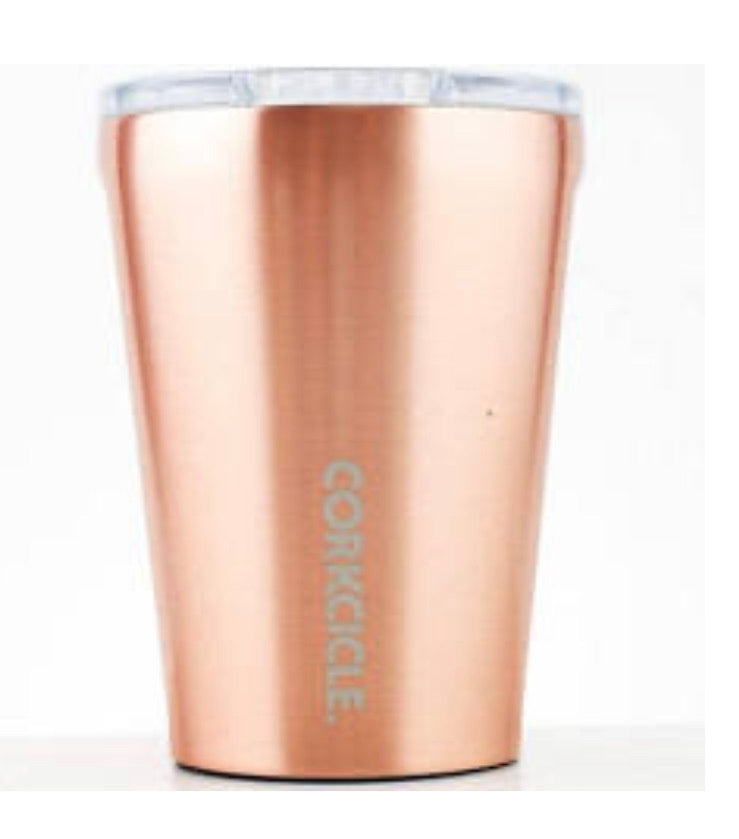 Corkcicle 12 oz tumbler copper