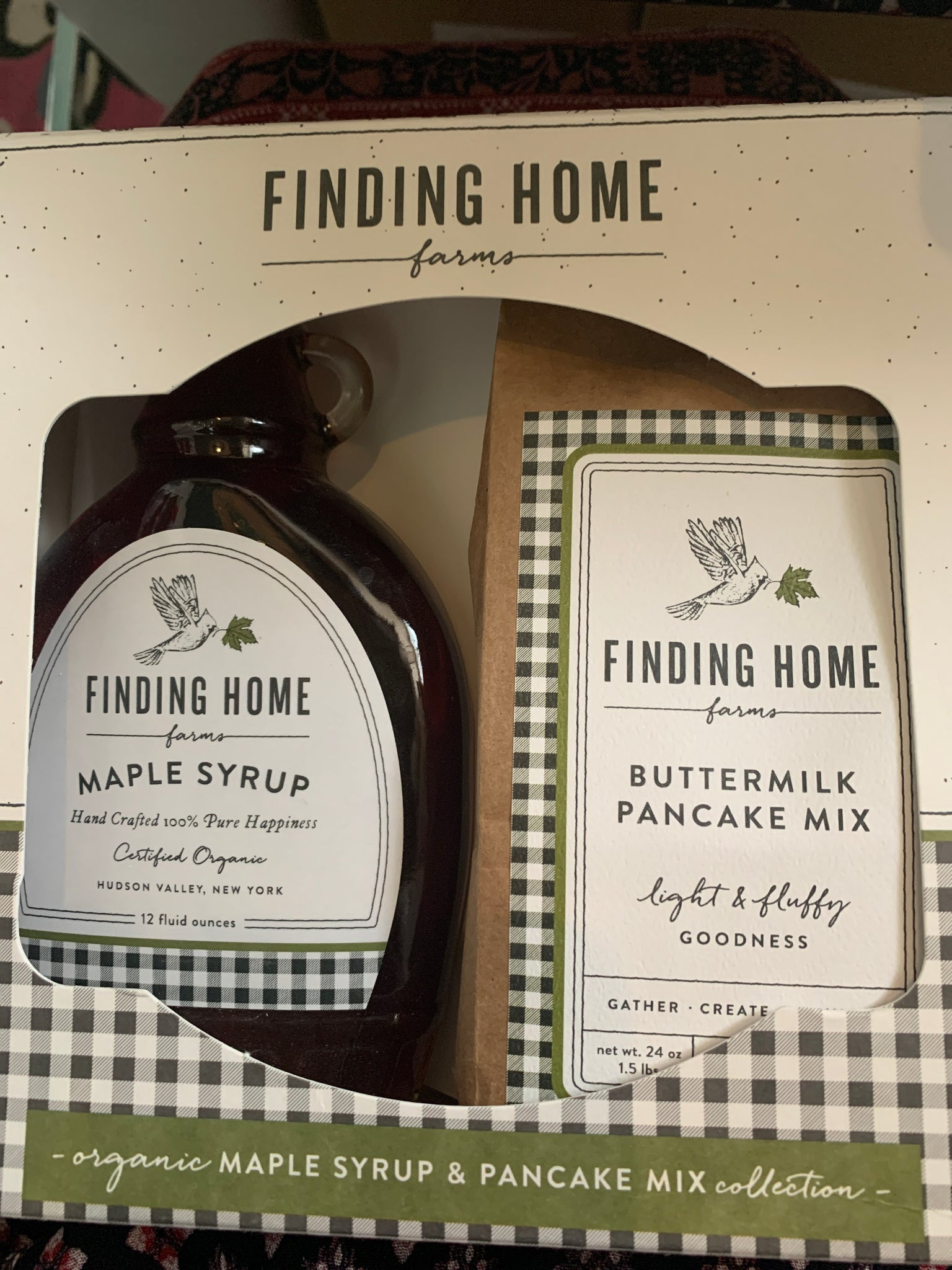 Finding home pancake set