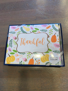 Thankful notecard set