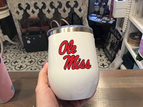 Corkcicle stemless ole miss