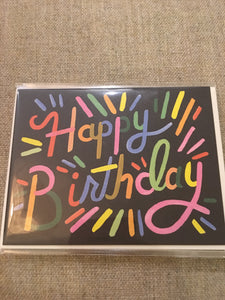 Happy birthday card- rifle paper