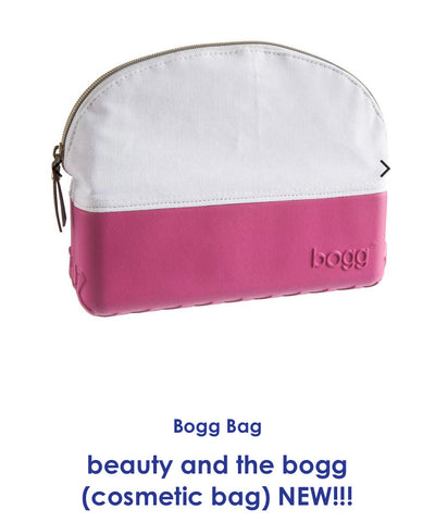 Bogg hot pink cosmetic bag