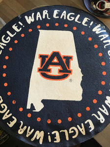 War Eagle Auburn door hanger