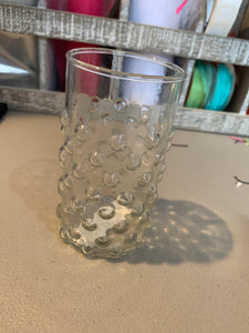 Dotted  clear glass