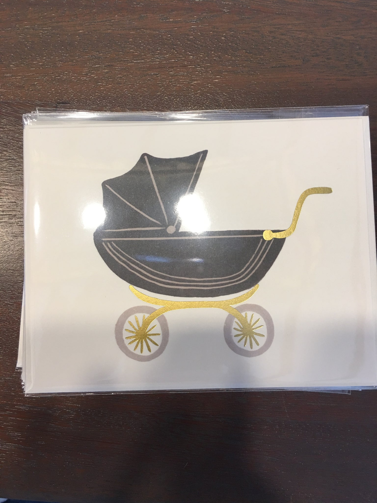 Baby stroller rifle card