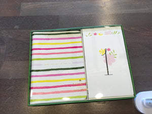 Kate Spade striped baby photo prop
