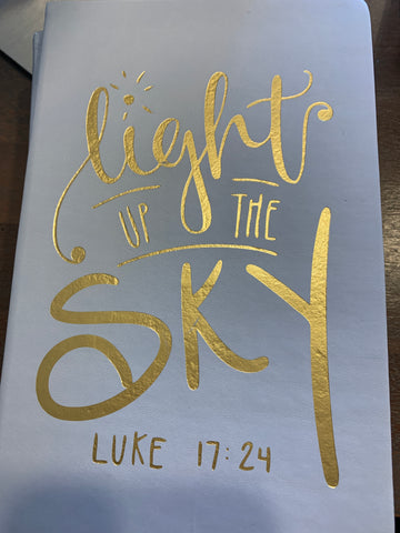 Light up the sky journal