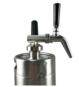 Keg for Cold Brew Nitro Coffee
