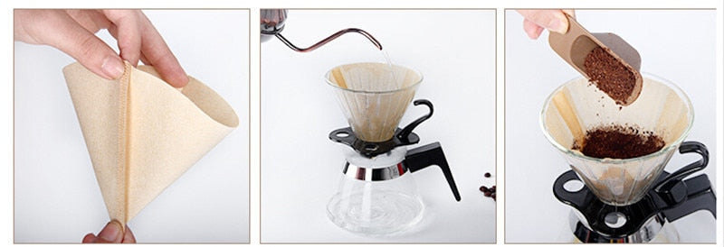 Japanese Hario V60 Coffee Filters