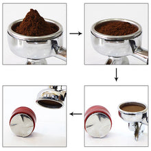 Load image into Gallery viewer, 51mm Stainless Steel Coffee Tamper Distributor for Breville