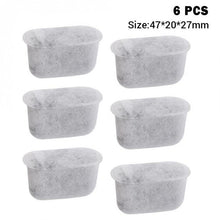 Load image into Gallery viewer, 6 Pcs/Set of Charcoal Water Filters for Breville Coffee Machines.