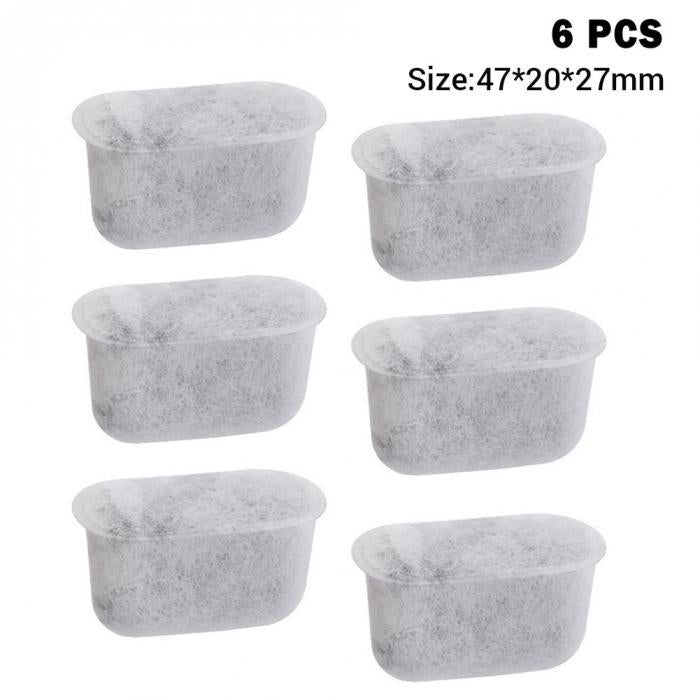 6 Pcs/Set of Charcoal Water Filters for Breville Coffee Machines.